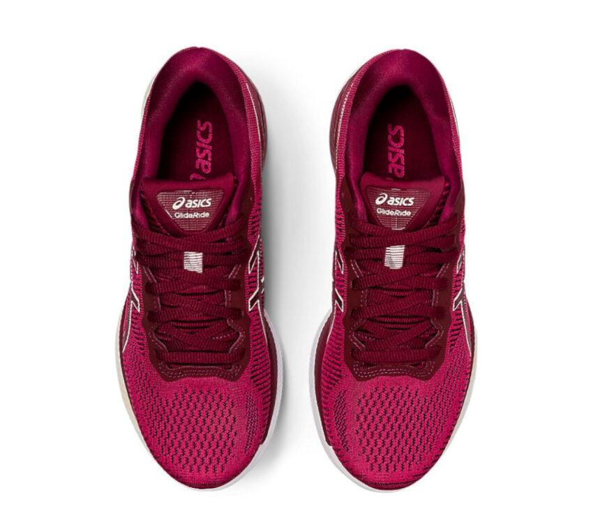 scarpe running donna asics glideride viste dall'alto