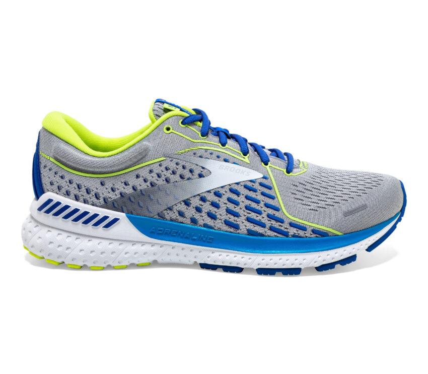 scarpa running per pronatori brooks adrenaline gts 21 grigio e blu