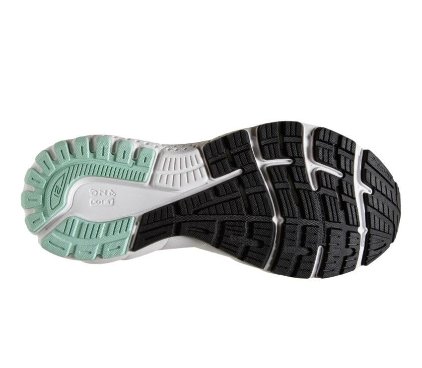 suola scarpe da running donna per pronazione brooks adrenaline gts 21 nere