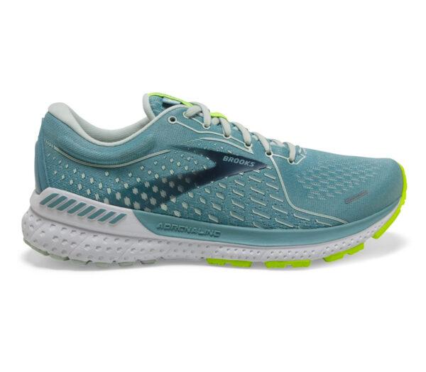 scarpe da running donna per pronazione brooks adrenaline gts 21 azzurre