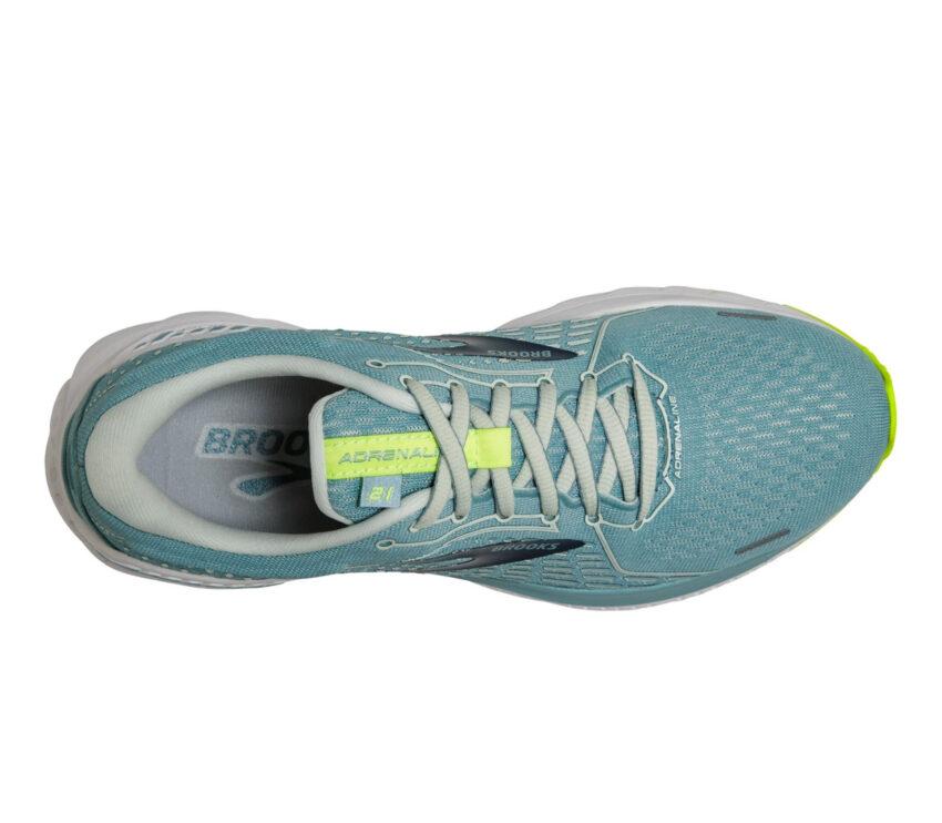 tomaia scarpe da running donna per pronazione brooks adrenaline gts 21 azzurre