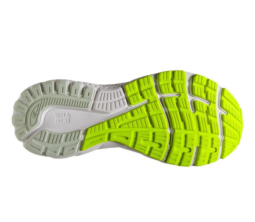 suola scarpe da running donna per pronazione brooks adrenaline gts 21 azzurre