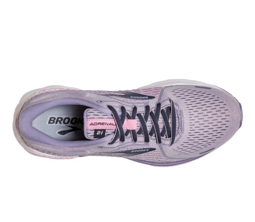 tomaia scarpa running donna per pronazione brooks adrenaline gts 21 viola