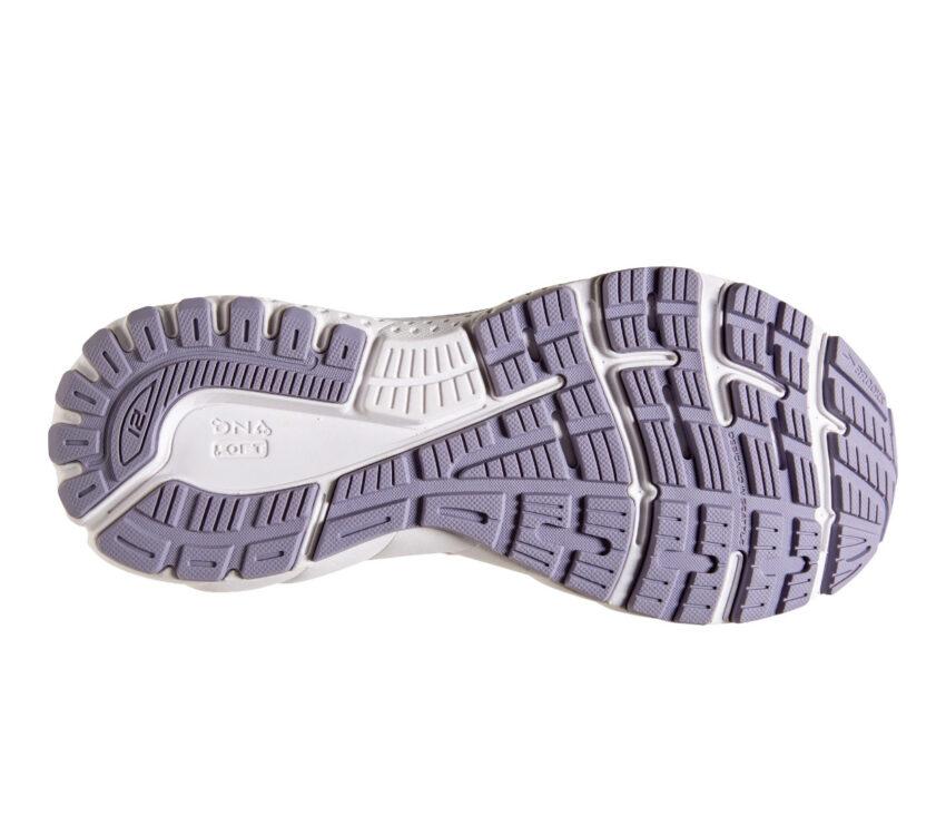 suola scarpa running donna per pronazione brooks adrenaline gts 21 viola
