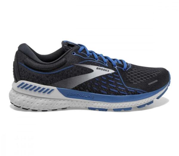 scarpe da running neutre brooks adrenaline gts 21 blu e nera