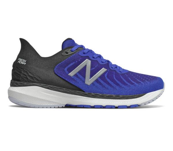 scarpa running stabile uomo new balance 860 v11 blu e nere