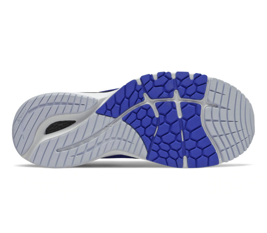 suola scarpa running stabile uomo new balance 860 v11 blu e nera