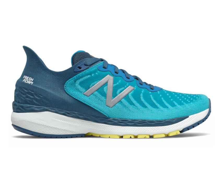 scarpa da running new balance 860v11 uomo azzurra