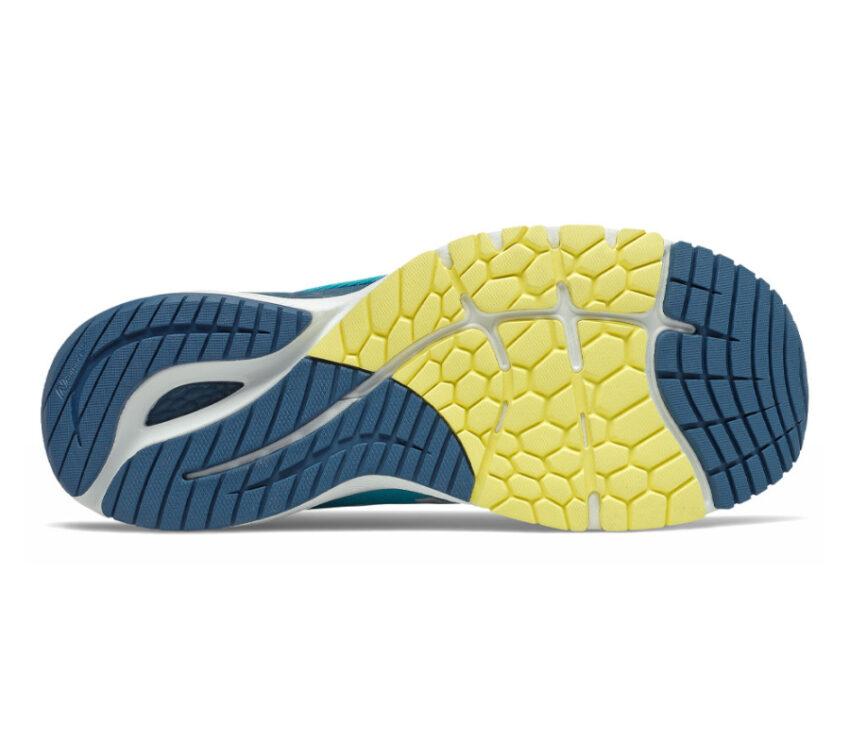suola scarpa da running new balance 860v11 uomo azzurra