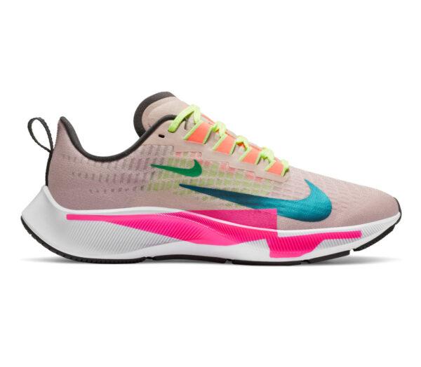 scarpa da running nike pegasus 37 premium multicolored rosa