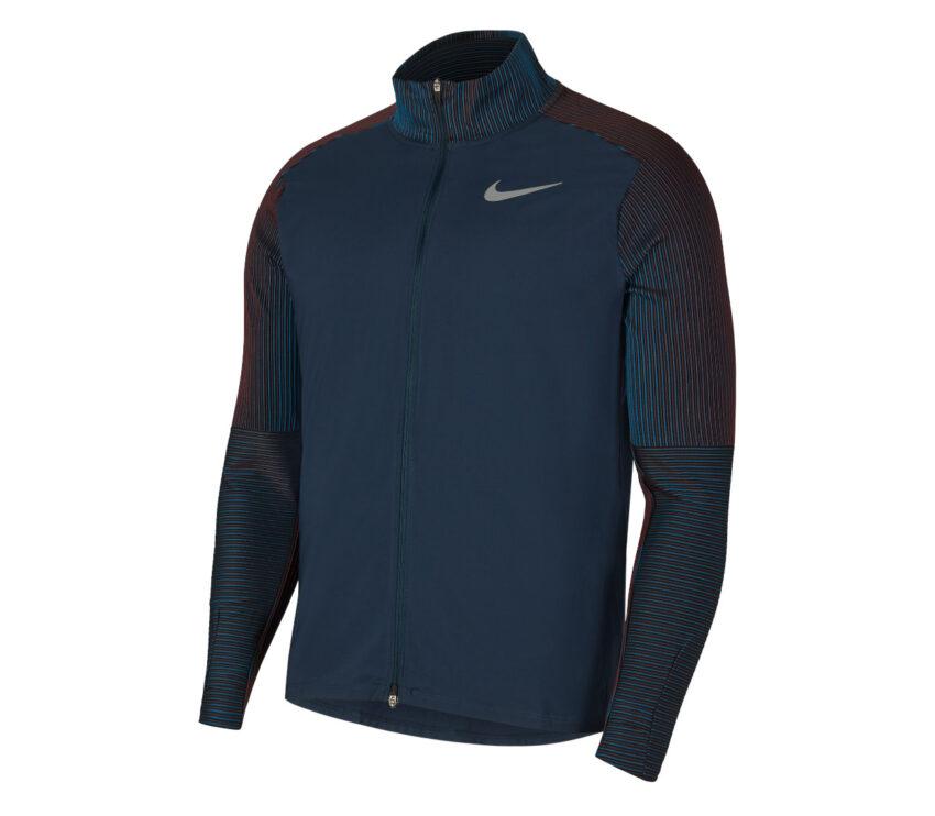 giacca nike da uomo blu per il running
