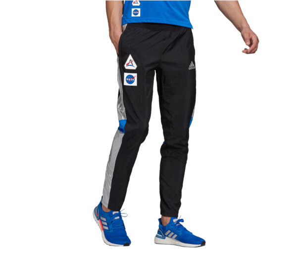 pantaloni da allenamento uomo Adidas tr pant NASA neri