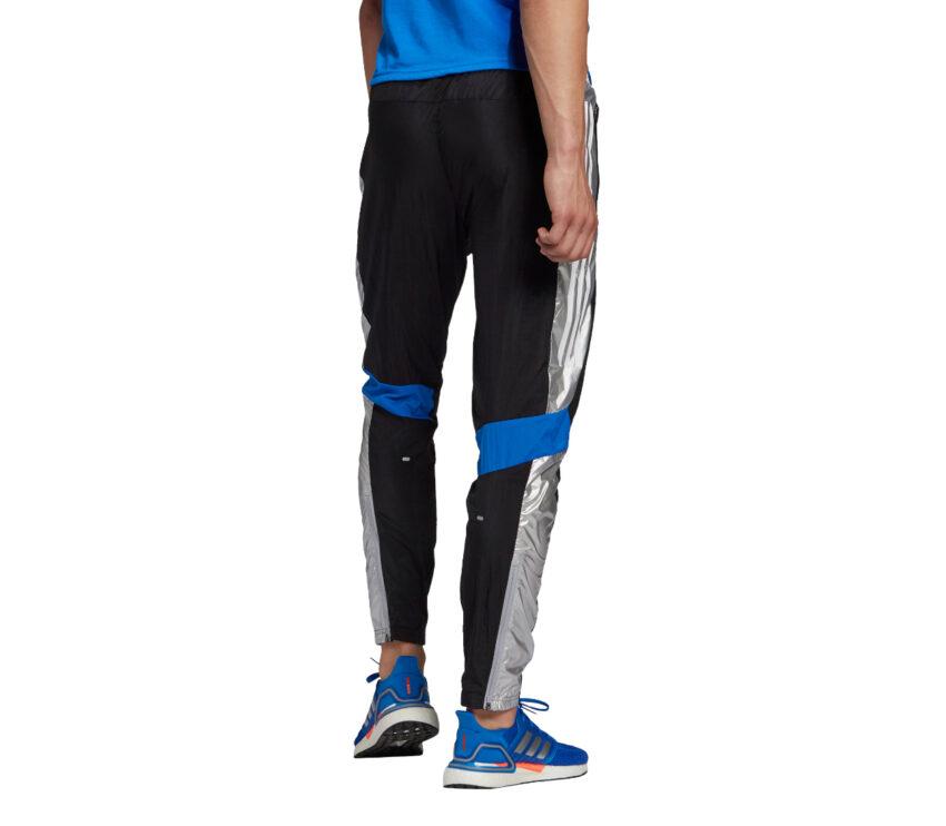 retro pantaloni da allenamento uomo Adidas tr pant NASA neri