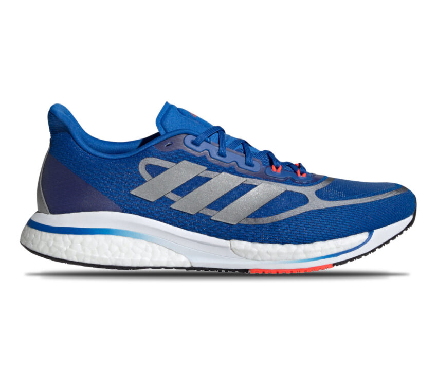 scarpa running ammortizzata uomo adidas supernova + blu
