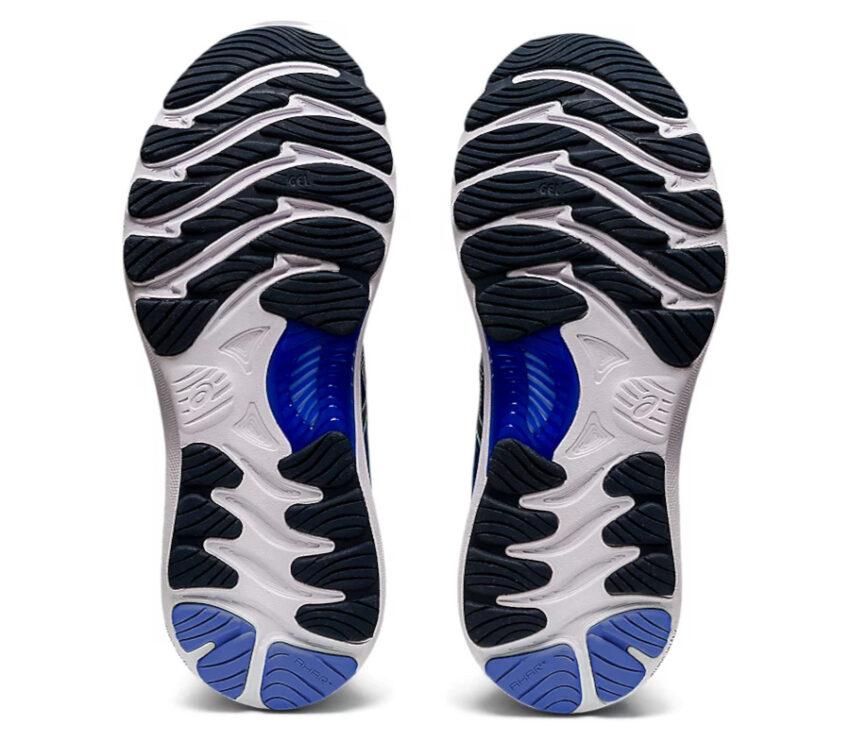 suola scarpa running donna asics gel nimbus blu