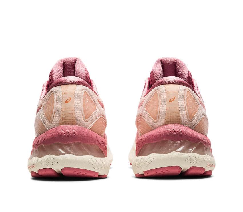 retro scarpe da running donna asics gel nimbus 23 rosa