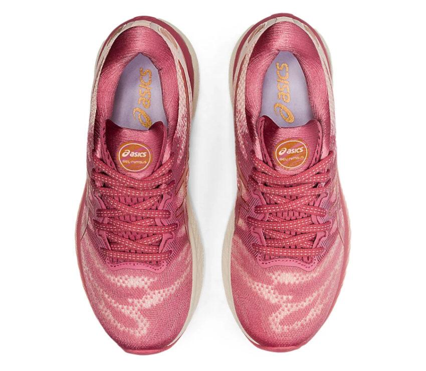 tomaia scarpe da running donna asics gel nimbus 23 rosa