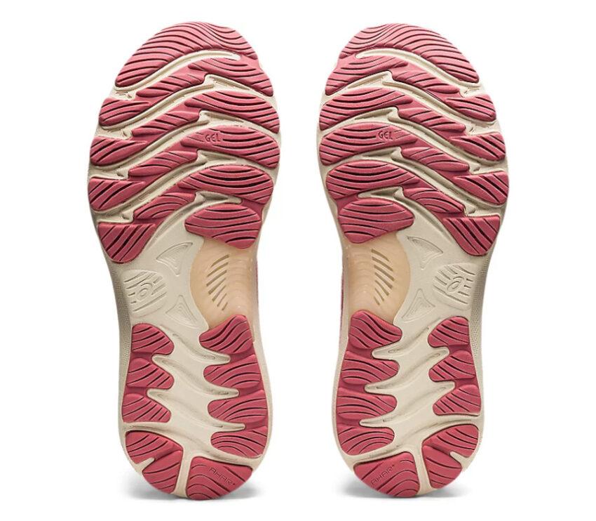 suola scarpe da running donna asics gel nimbus 23 rosa