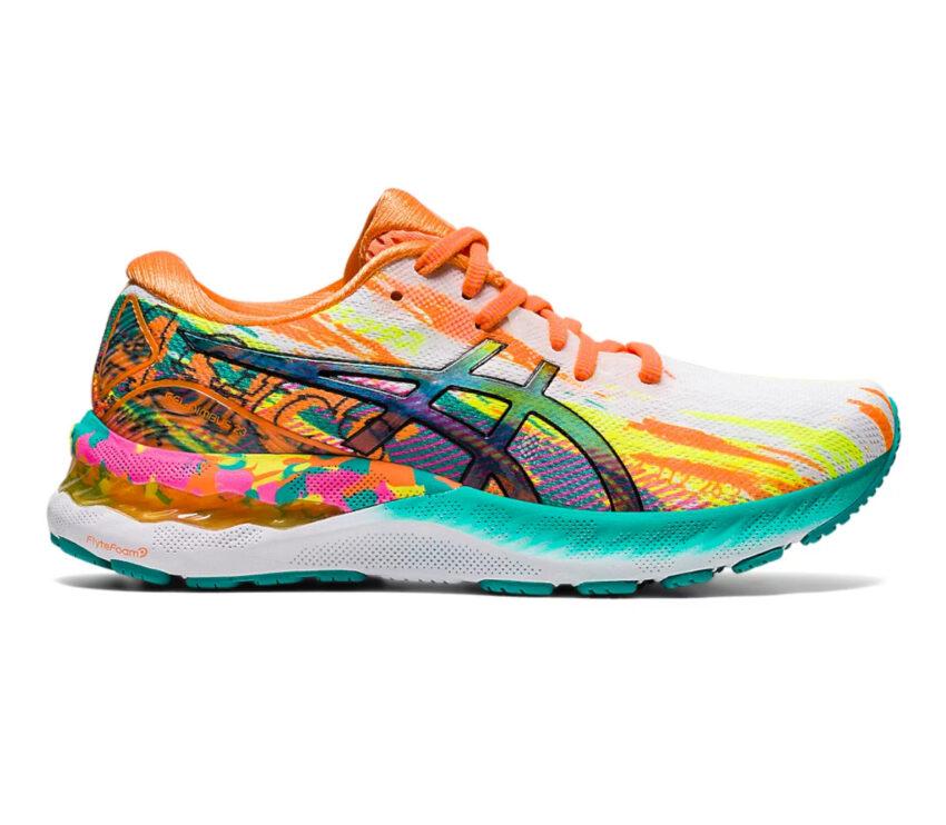 scarpa running donna colorata asics gel nimbus 23