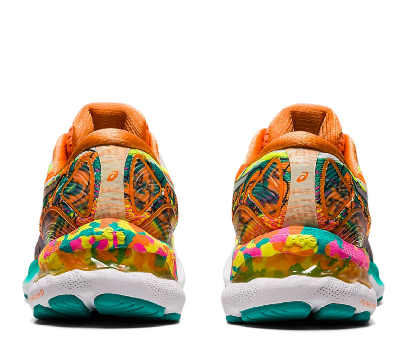 retro scarpe running donna asics gel nimbus 23 colorate