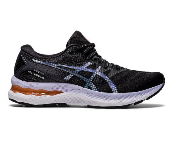 scarpa da running asics nimbus 23 donna nero