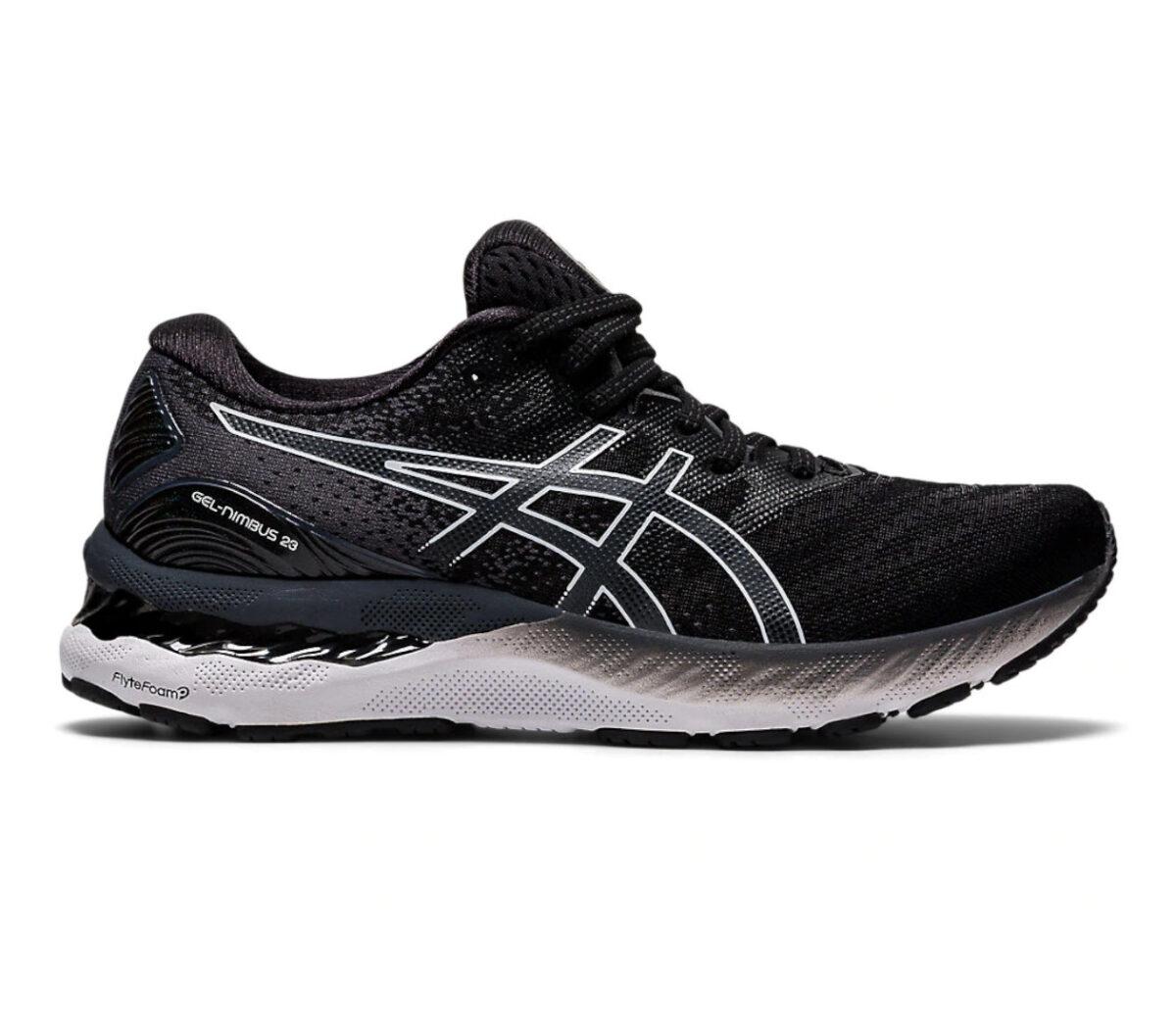 scarpa running uomo asics gel nimbus 23 nera