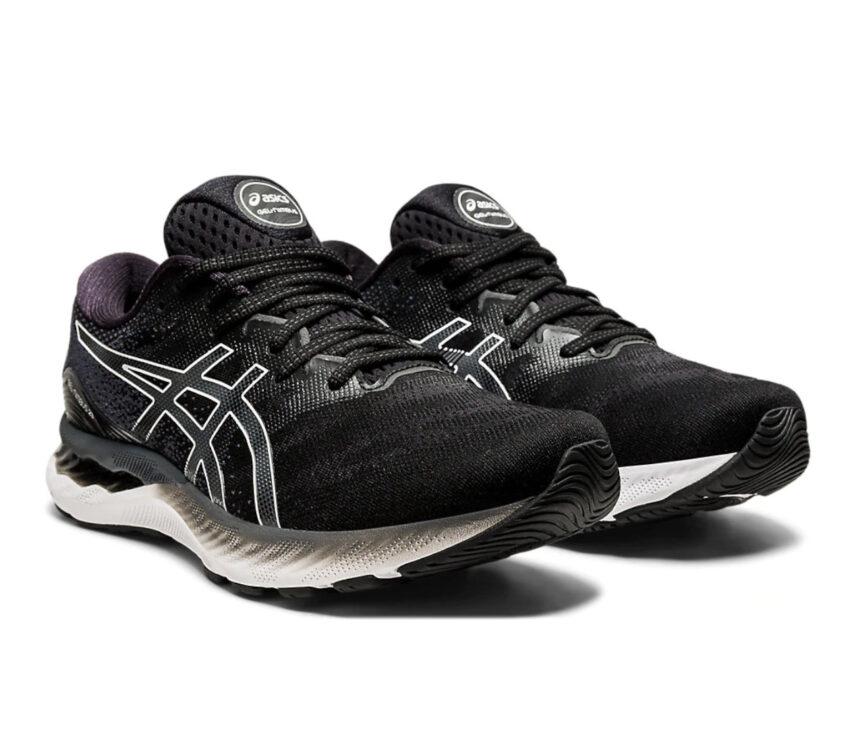 coppia scarpe running uomo asics gel nimbus 23 nere