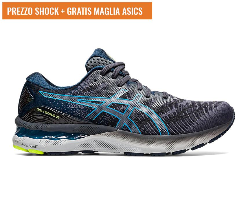 scarpa running uomo asics gel nimbus 23