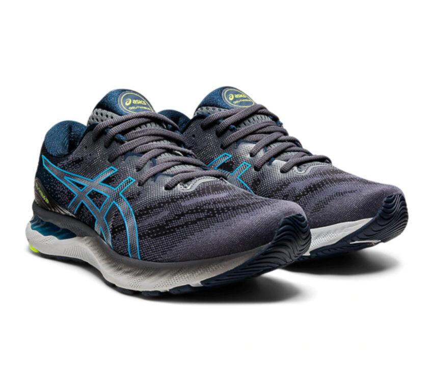 coppia scarpe running asics gel nimbus 23 da uomo