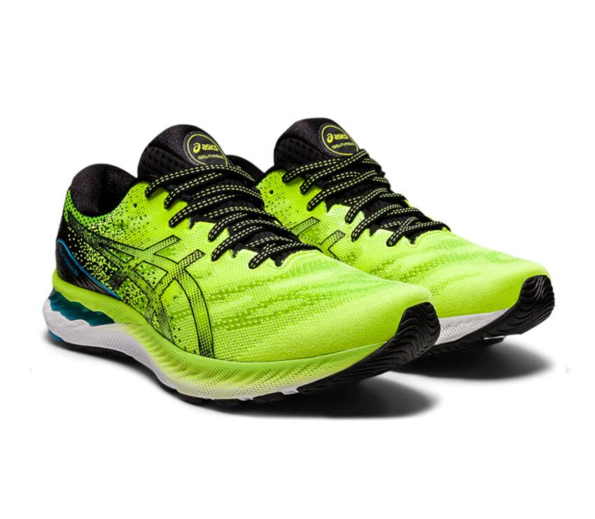 coppia scarpe running uomo asics gel nimbus 23