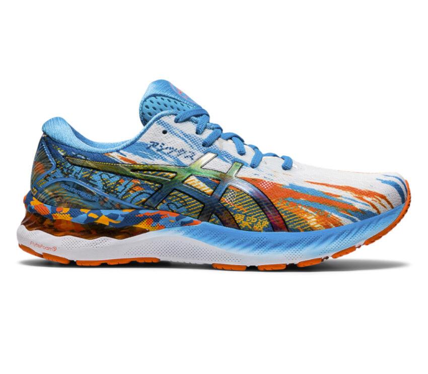 scarpa da running uomo asics gel nimbus 23 multi colore