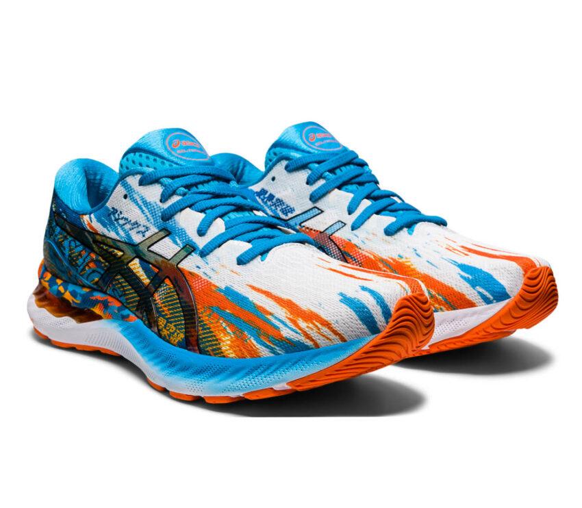 coppia scarpe da running uomo asics gel nimbus 23 multi colore