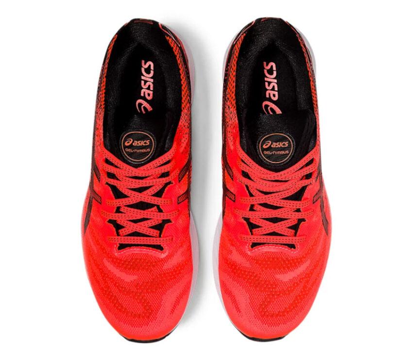 tomaia scarpa da running uomo asics gel nimbus 23 tokyo rossa