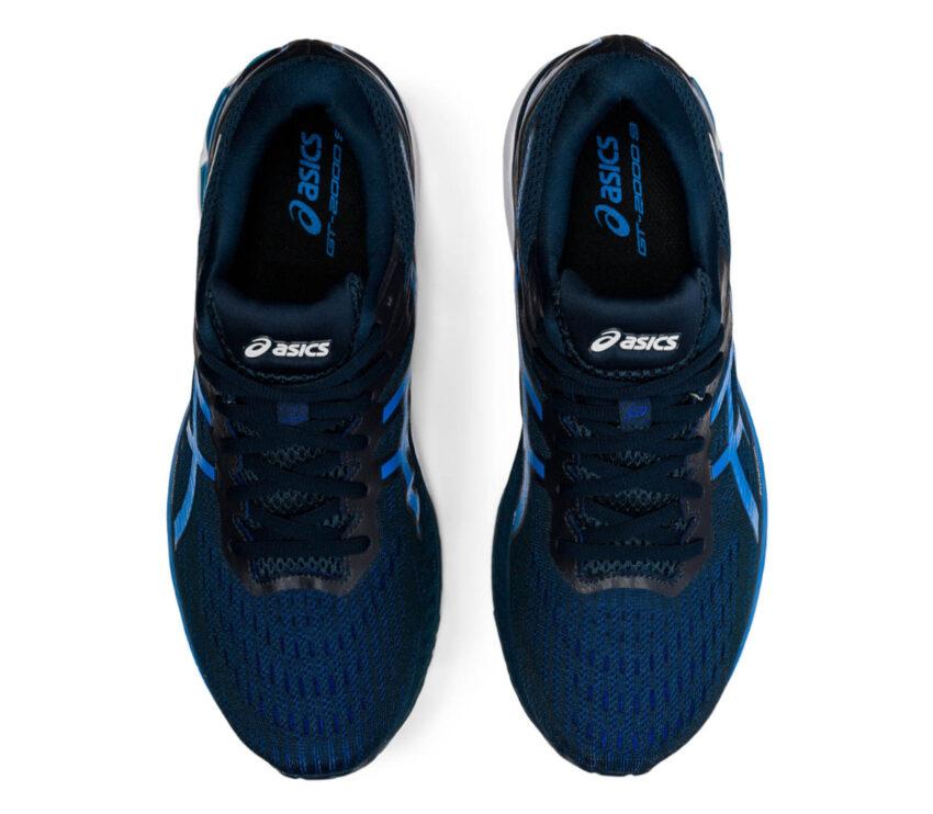 tomaia scarpa running pronatori asics gt 2000 9 blu