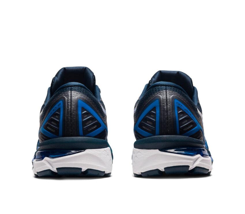 tallone scarpa running pronatori asics gt 2000 9 blu