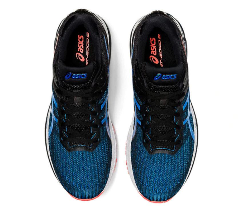 tomaia scarpa da running per pronatori asics gt 2000 9 blu