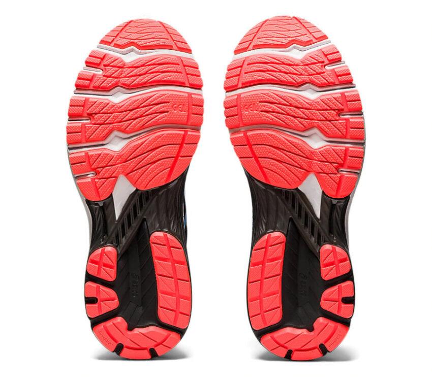 suola scarpa da running per pronatori asics gt 2000 9 blu