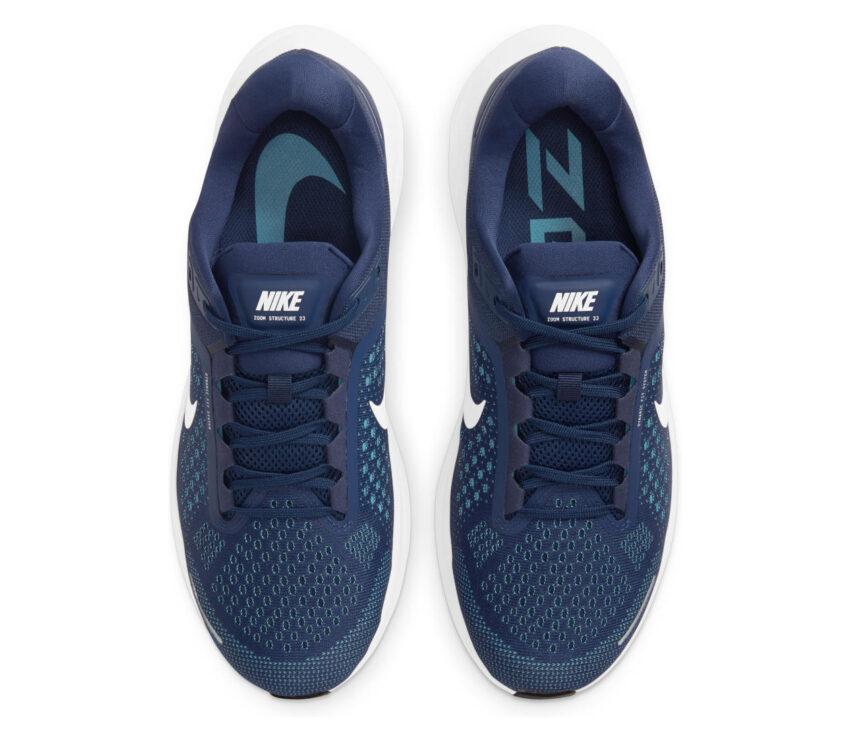 tomaia scarpa per pronatori nike structure 23 uomo blu