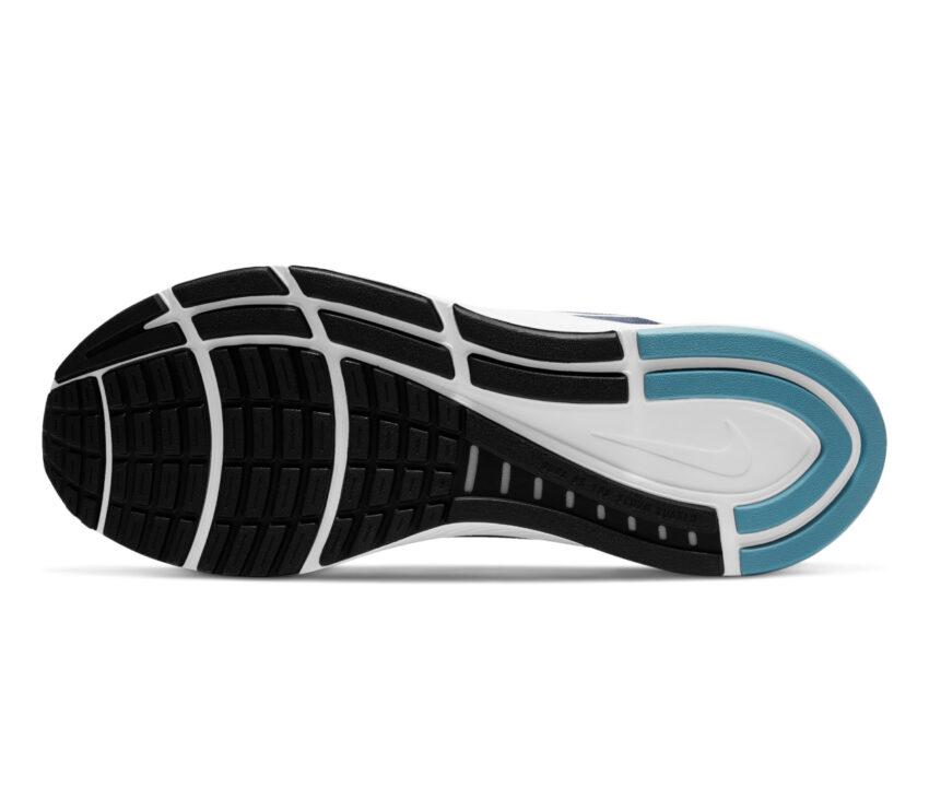 suola scarpa per pronatori nike structure 23 uomo blu