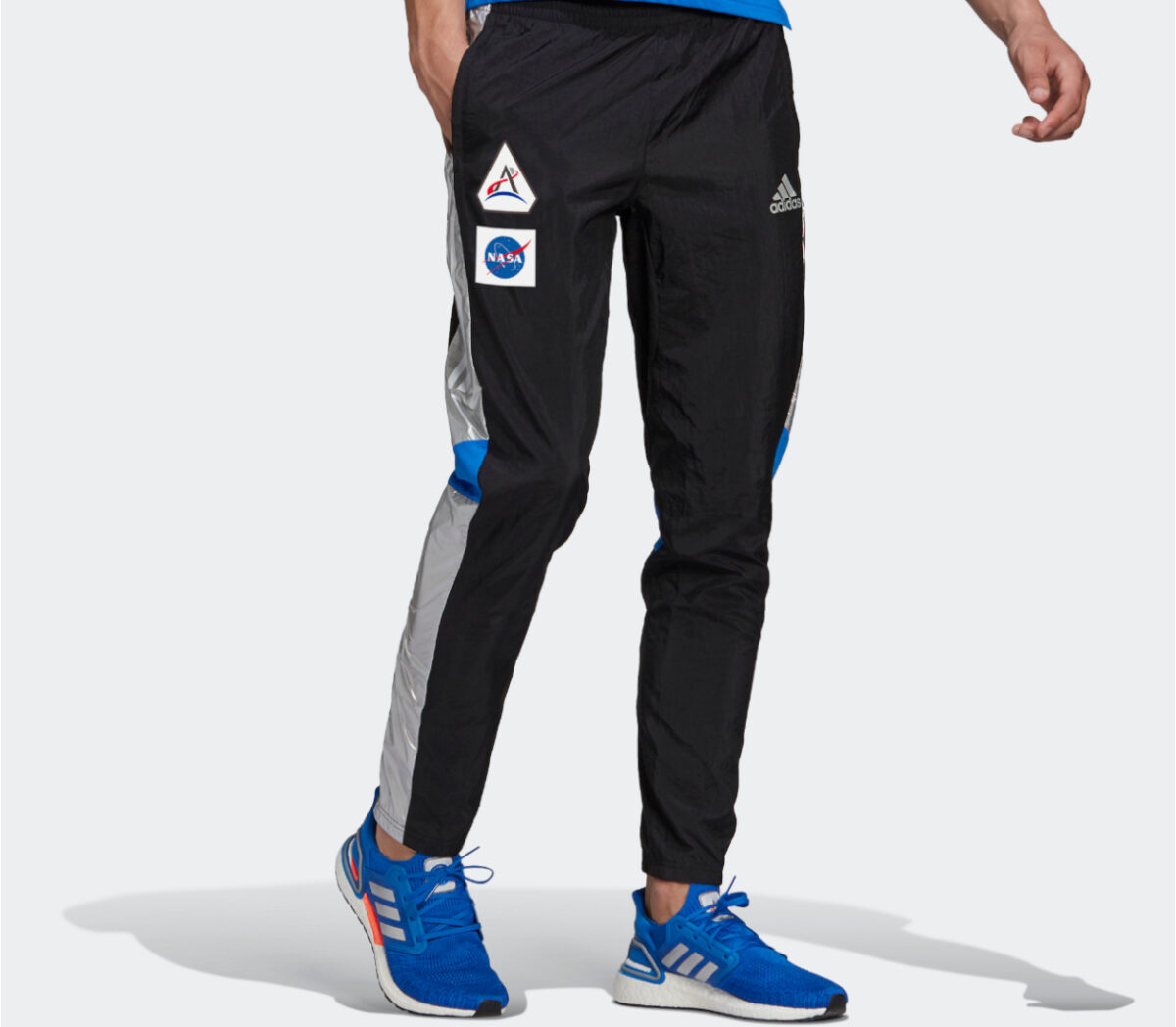 pantaloni da allenamento uomo adidas nasa