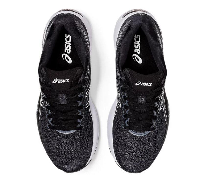 tomaia scarpa da running donna asics gel cumulus 22 nera