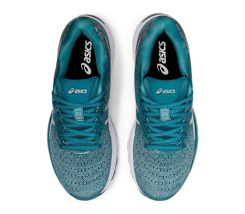 tomaia scarpa da running donna asics gel cumulus 22 azzurro