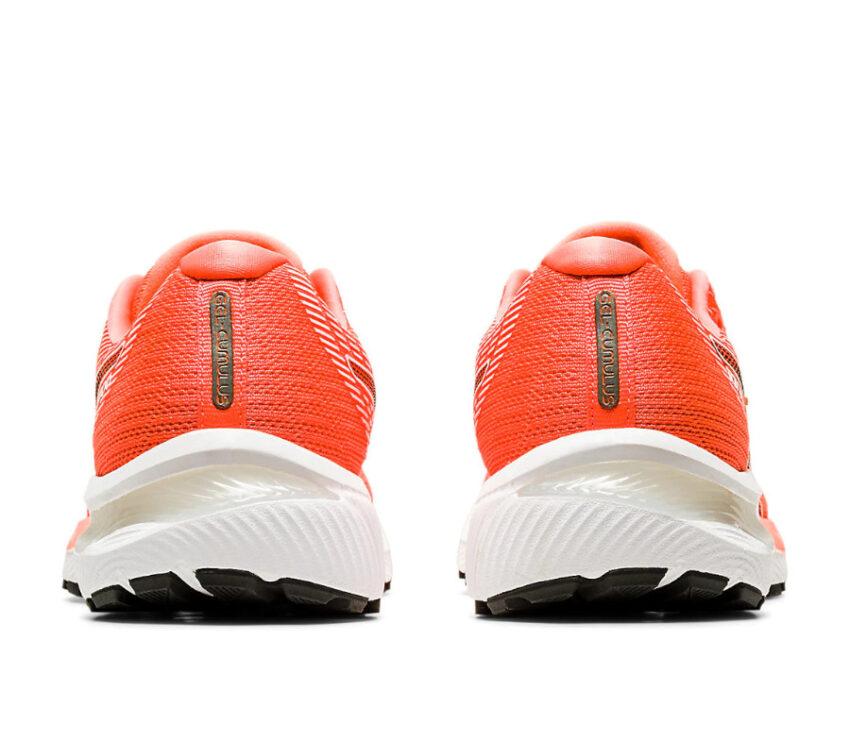 tallone scarpa da running donna asics gel cumulus 22 rossa tokyo