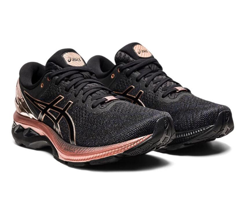 coppia scarpa running stabile per donne asics kayano platinum