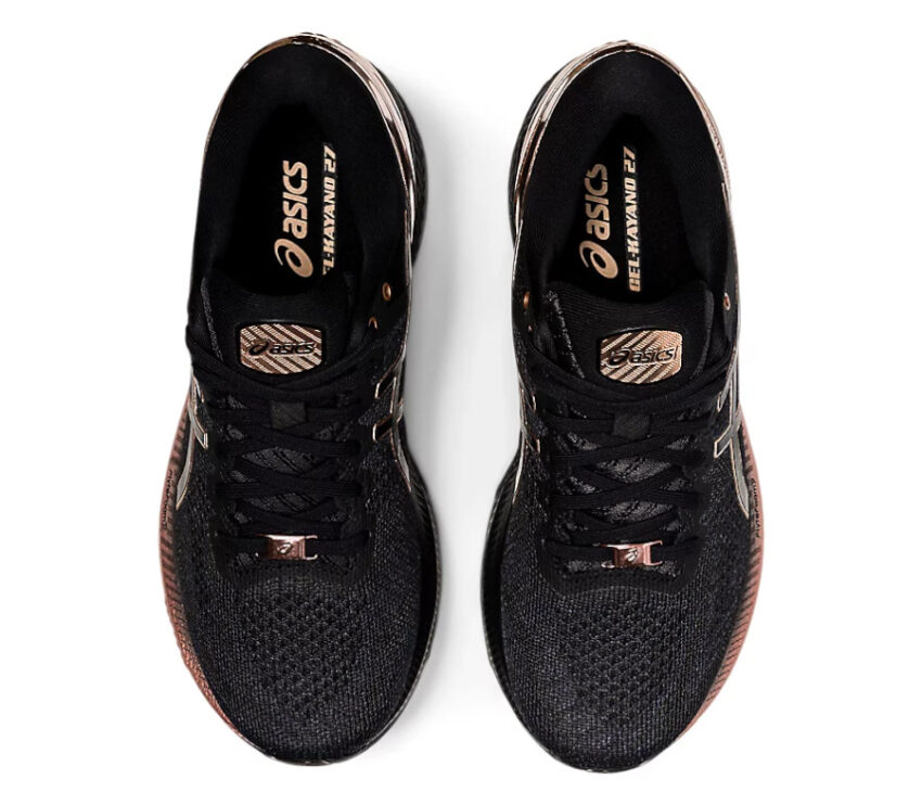 tomaia scarpa running stabile per donne asics kayano platinum