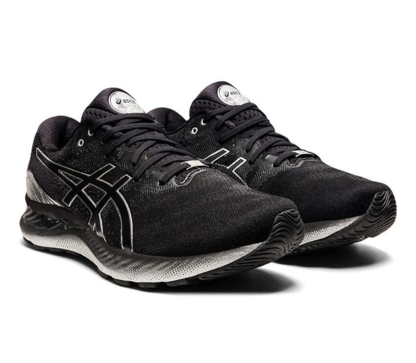 scarpa da running uomo asics gel nimbus 23 platinum