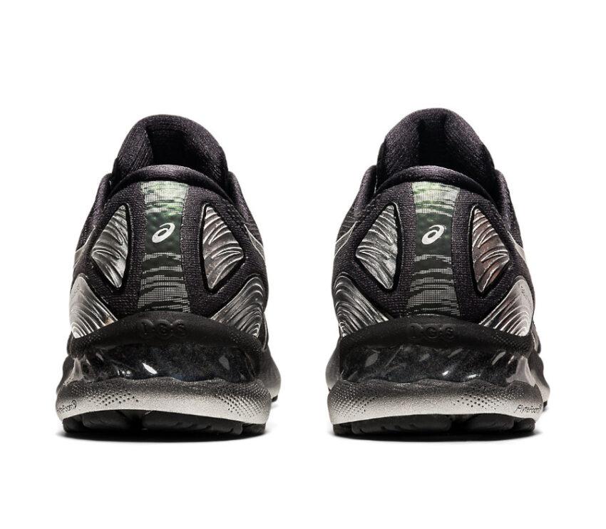 tallone scarpa da running uomo asics gel nimbus 23 platinum