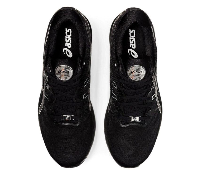 scarpa da running uomo asics gel nimbus 23 platinum tomaia
