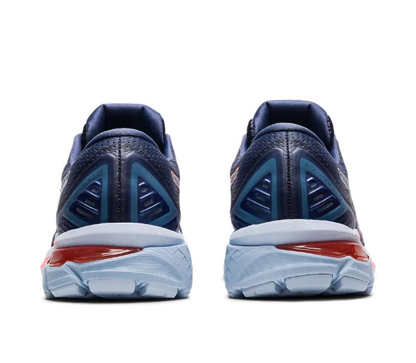 tallone scarpa running donna pronazione asics gt 2000 9 blu