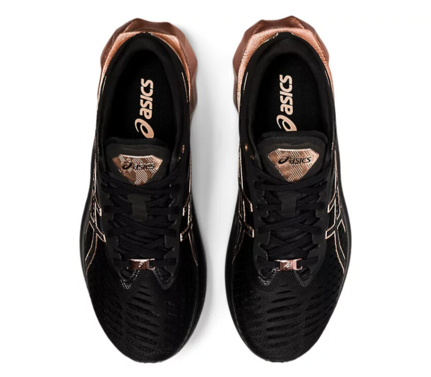 tomaia scarpa da running asics novablast platinum donna